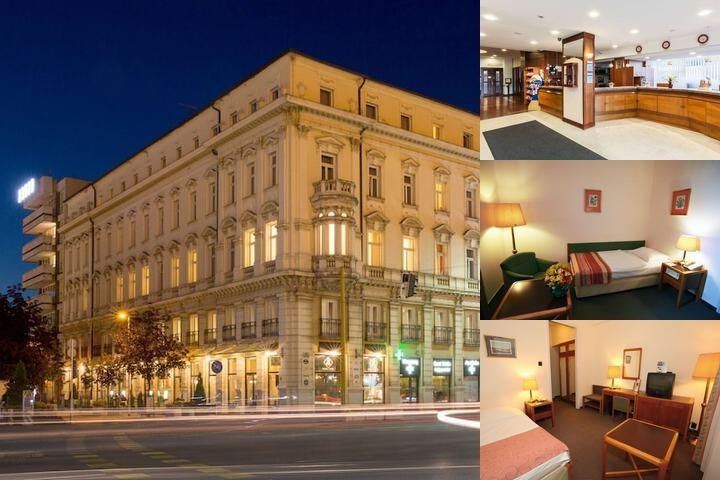 Hotel Raba City Center photo collage