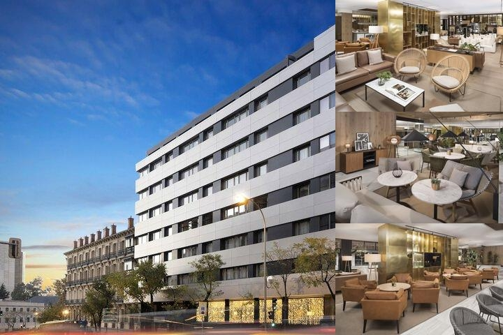 Meliá Galgos Madrid photo collage