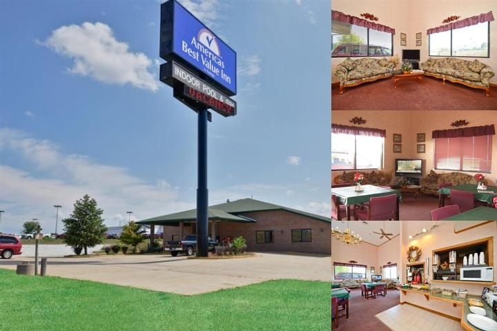 Americas Best Value Inn Ozark photo collage