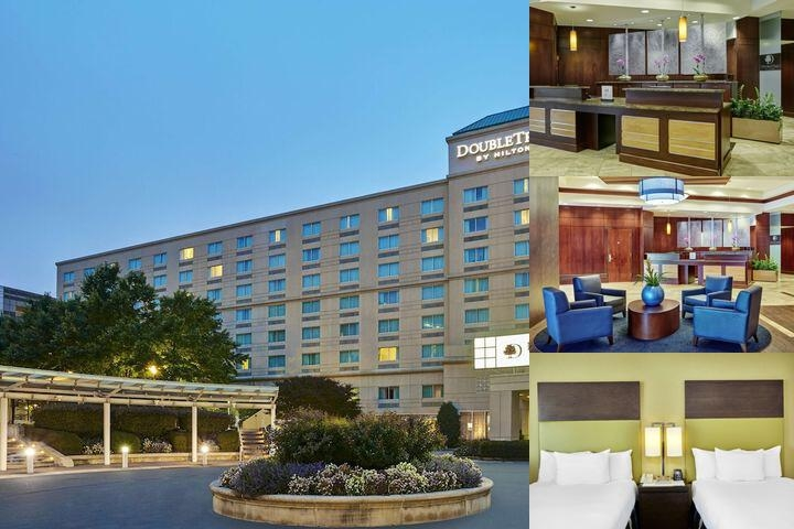 Doubletree by Hilton Charlotte photo collage