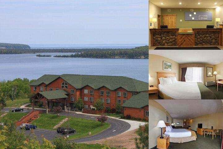 Holiday Inn Express Munising Lakeview photo collage