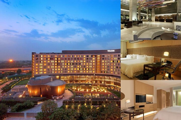 The Westin Gurgaon New Delhi photo collage