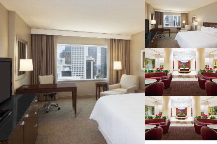 Westin Charlotte photo collage