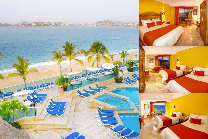 Copacabana Beach Hotel Acapulco photo collage