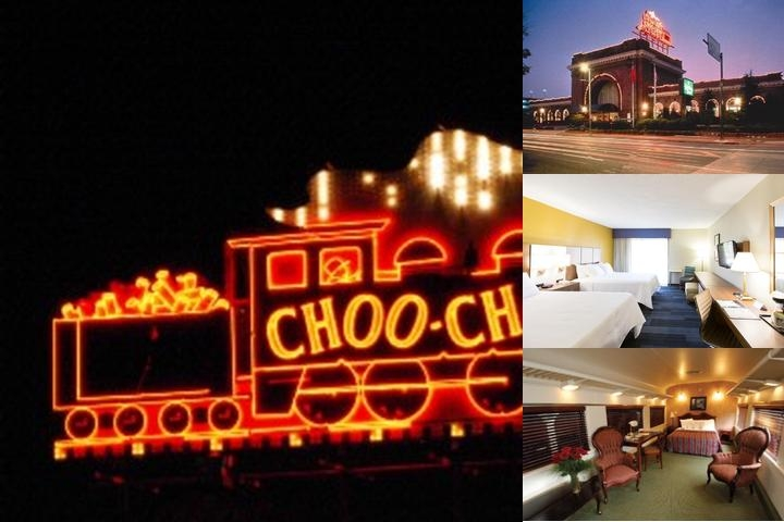 Chattanooga Choo Choo photo collage