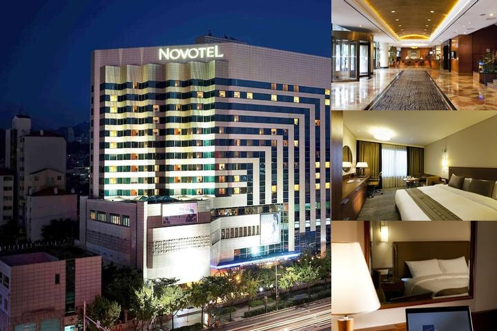 Novotel Ambassador Doksan Seoul photo collage