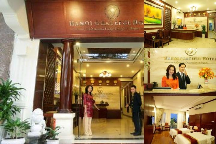 Hanoi Graceful Hotel photo collage