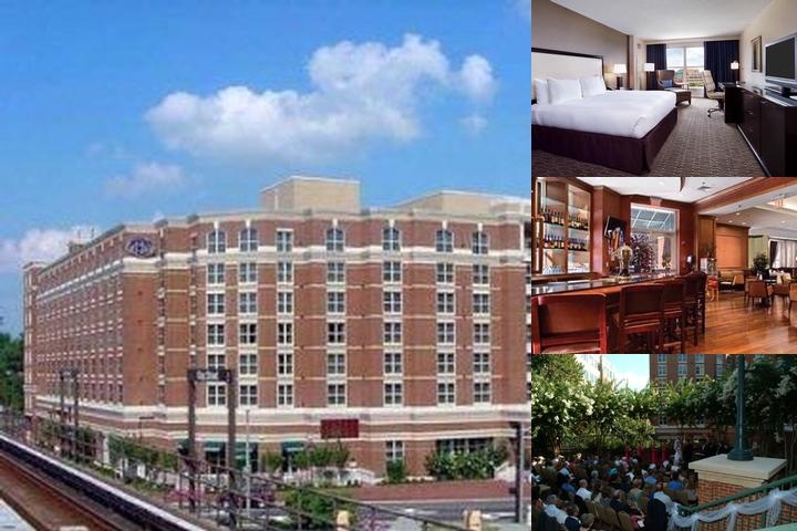 Hilton Old Town Alexandria photo collage