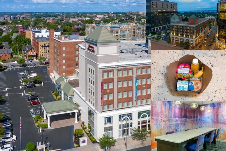 Hampton Inn & Suites Buffalo Downtown photo collage