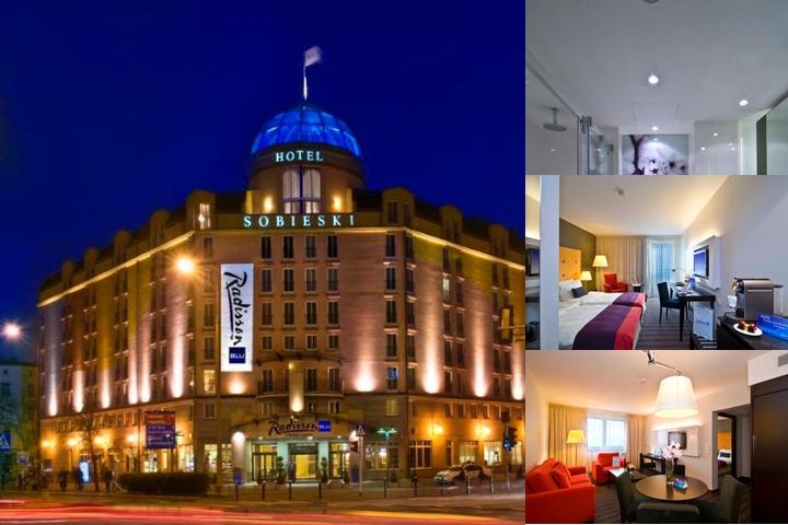 Radisson Blu Sobieski Hotel photo collage