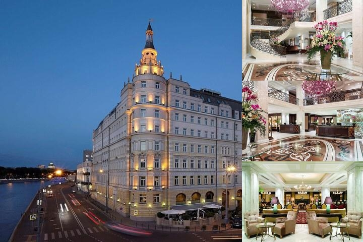 Hotel Baltschug Kempinski Moscow photo collage