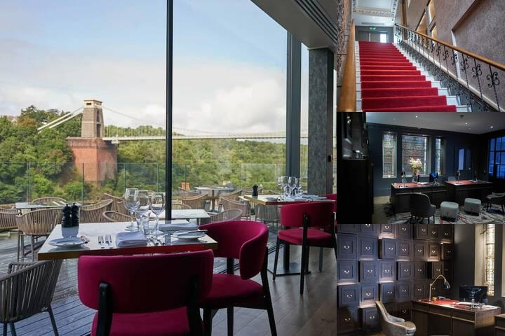 Avon Gorge Hotel photo collage