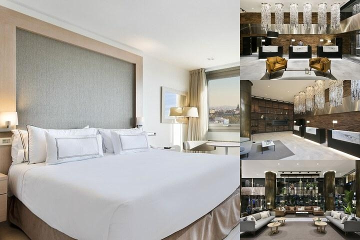 Melia Madrid Princesa photo collage