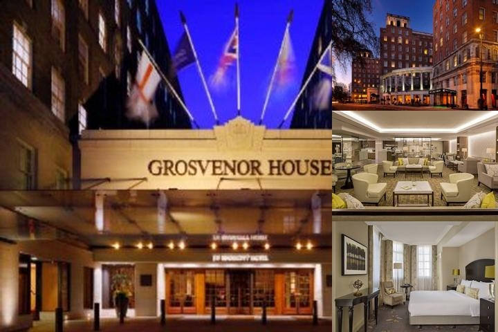 Grosvenor House a JW Marriott Hotel photo collage