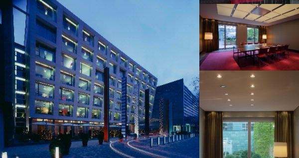 Radisson Blu Media Harbour Hotel Düsseldorf photo collage