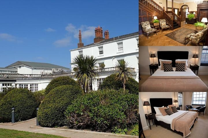 Rowton Hall Hotel photo collage