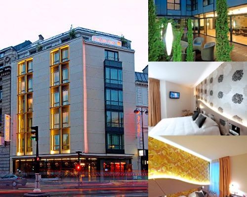 Hotel Hor photo collage