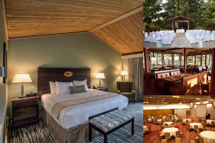 Salishan Spa & Golf Resort photo collage