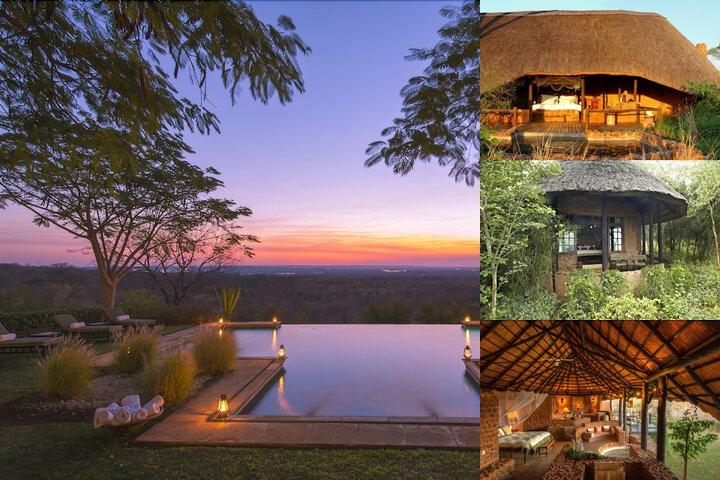 Stanley Safari Lodge photo collage
