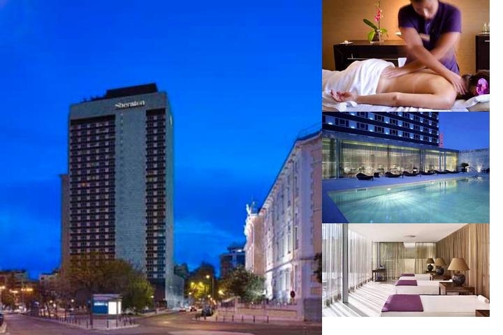 Sheraton Lisboa Hotel & Spa photo collage