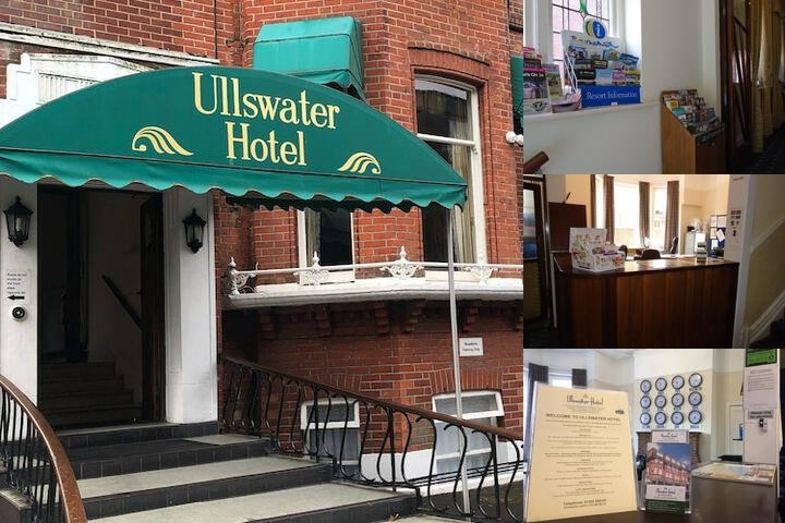 Ullswater Hotel Bournemouth photo collage