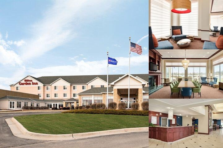 Hilton Garden Inn Dubuque Downtown photo collage