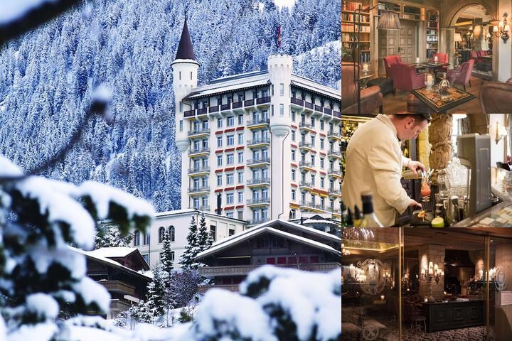 Gstaad Palace photo collage