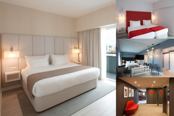 Hotel Lutecia Lisboa photo collage
