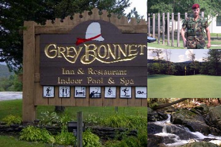 Grey Bonnet Inn & Resort photo collage