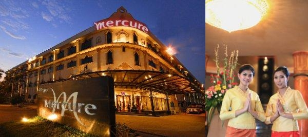 Mercure Vientiane photo collage