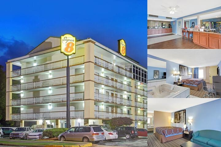 Super 8 Downtown / Graceland photo collage