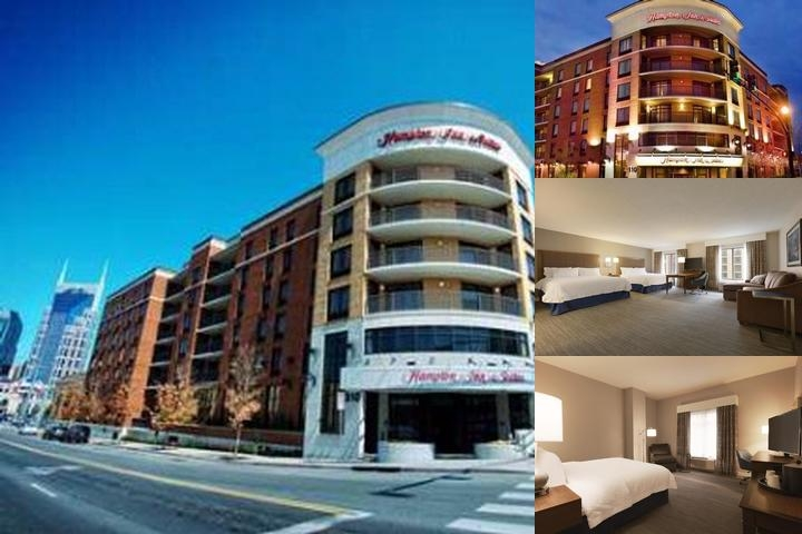 Hampton Inn & Suites Nashville Downtown photo collage