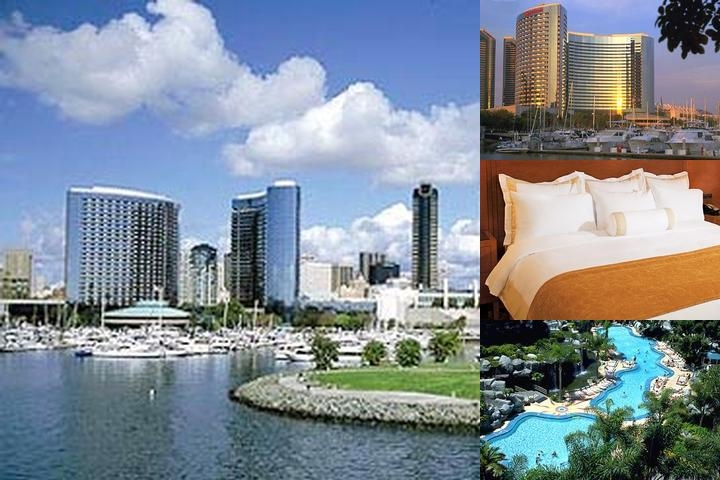San Diego Marriott Hotel & Marina photo collage