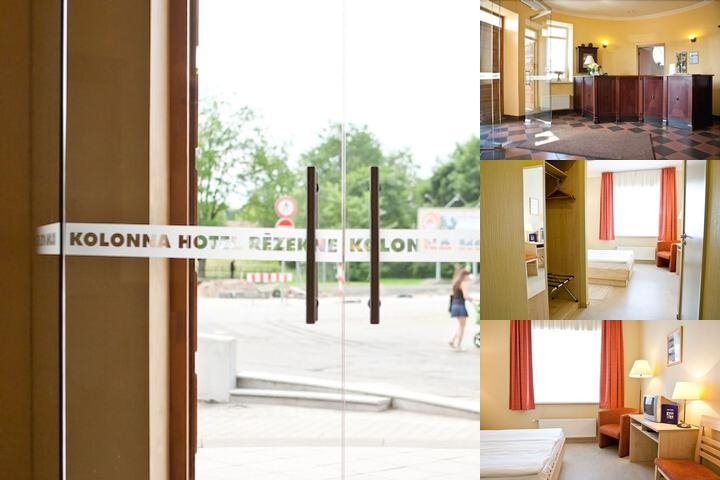 Kolonna Hotel Rezekne photo collage
