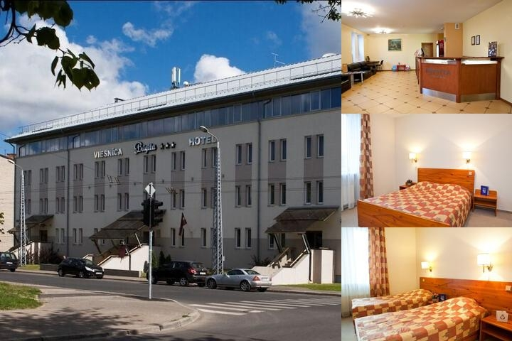Kolonna Hotel Brigita photo collage