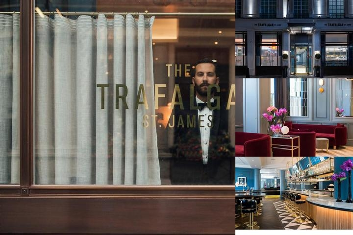 The Trafalgar Hotel photo collage
