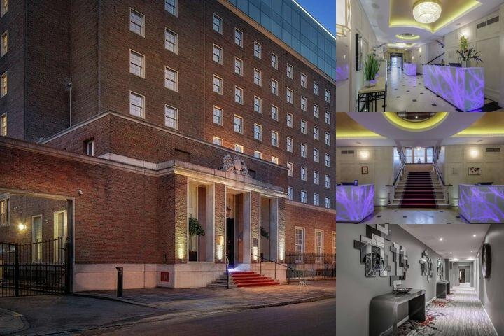 Mercure London Greenwich photo collage
