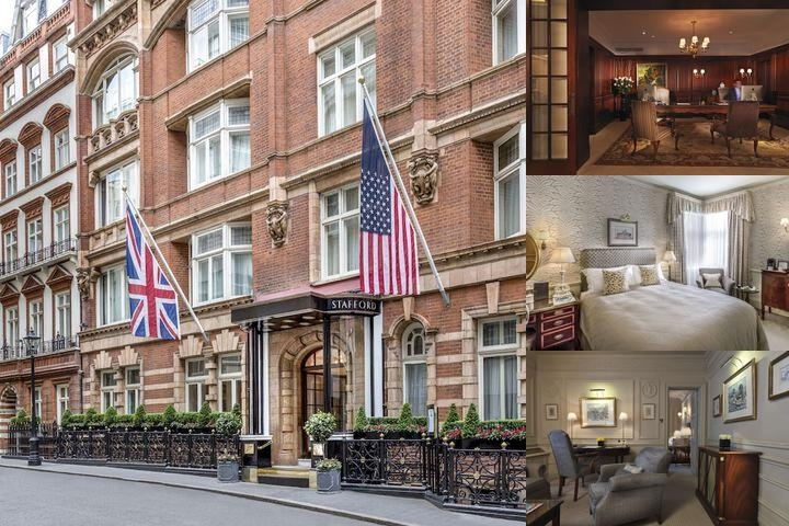 The Stafford London by Kempinski photo collage