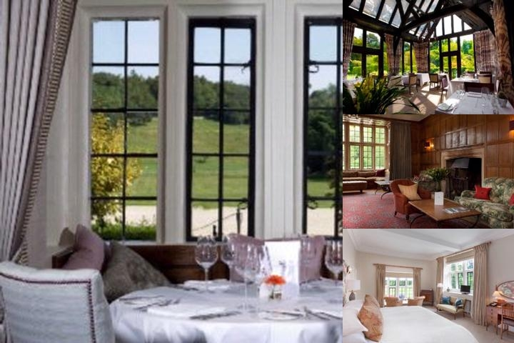 Bibury Court Hotel photo collage