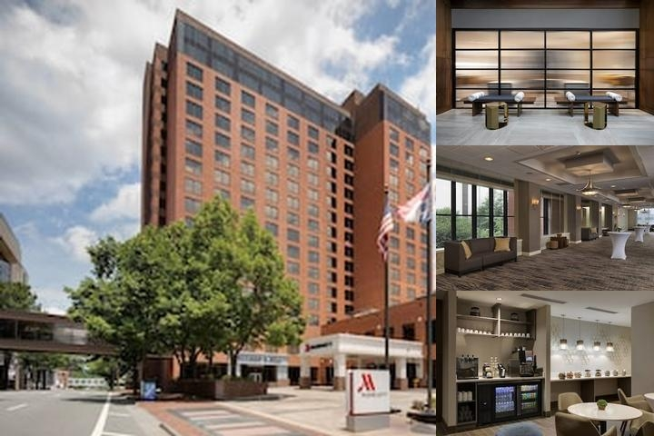 Marriott Winston Salem photo collage