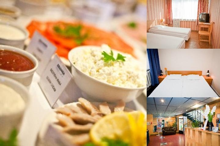 Kolonna Hotel Kuldiga photo collage