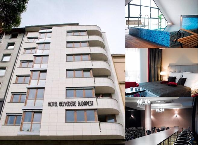 Belvedere Hotel photo collage