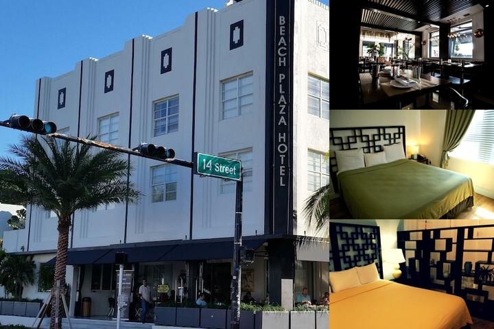 South Beach Plaza Hotel & Villas photo collage