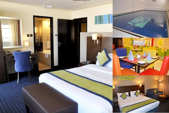 Best Western Premier Muscat photo collage