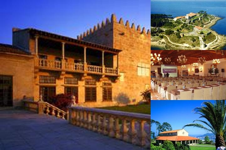 Parador De Baiona photo collage