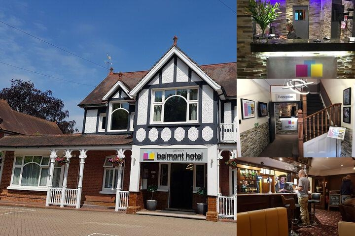 Gatwick Belmont Hotel photo collage