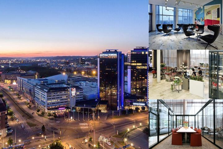 Gothia Towers Hotel photo collage