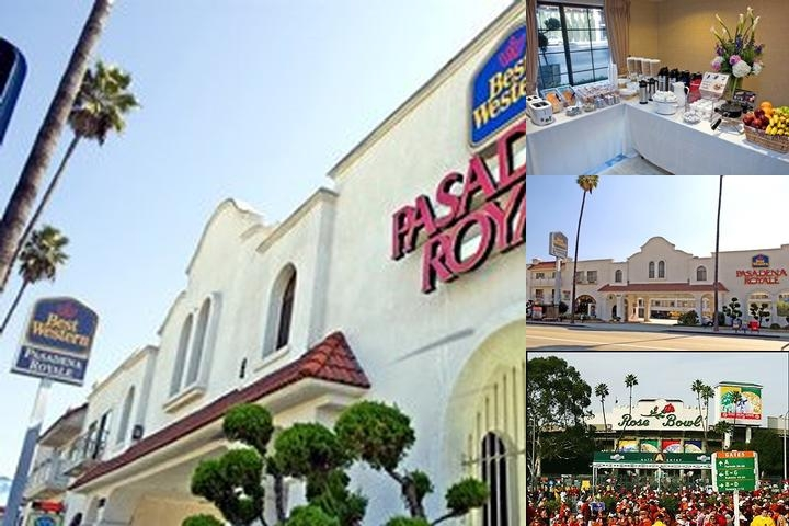 Best Western Pasadena Royale photo collage