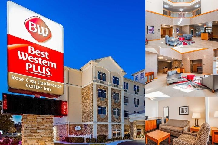 Best Western Plus Rose City Conference Center Inn photo collage