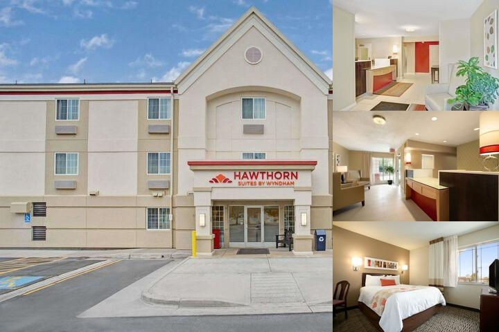 Hawthorn Suites by Wyndham Salt Lake City Fort Uni photo collage